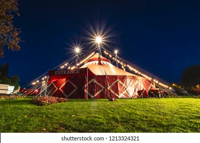 Funtasia circus Big Top at Bideford Park, North Devon