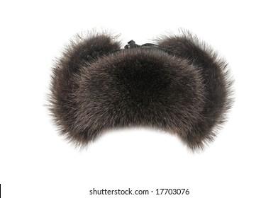 Fur cap winter