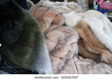 Fur at market