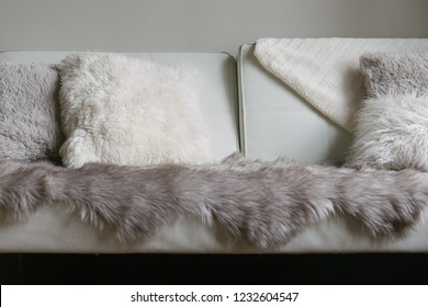 Fur on Fluffy Couch