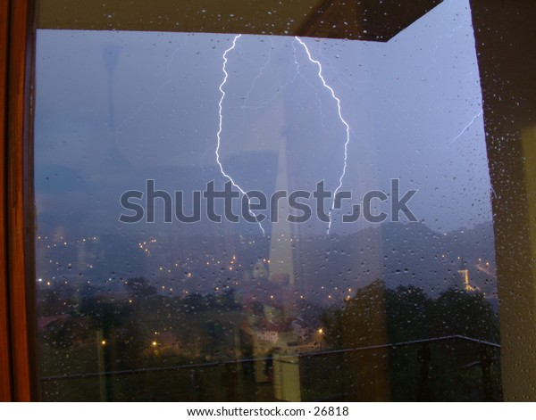 furious late spring lightning storm no. 3 (can't stand the rain :))