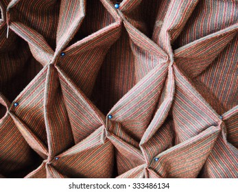 Furnishing Fabrics decoration on the table or the wall