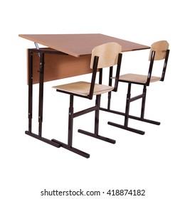 furniture on white background