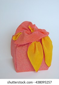 Furoshiki wrapping / Furoshiki (???) are a type of traditional Japanese wrapping cloth traditionally used to transport clothes, gifts, or other goods.
