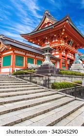 Fushimi Inari Shrine kyoto osaka japan