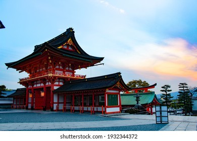 Fushimi Inari Shrine (伏見稲荷大社, Fushimi Inari Taisha) is an important Shinto shrine in southern Kyoto. It is famous for its thousands of vermilion torii gates, which straddle a network of trails behind