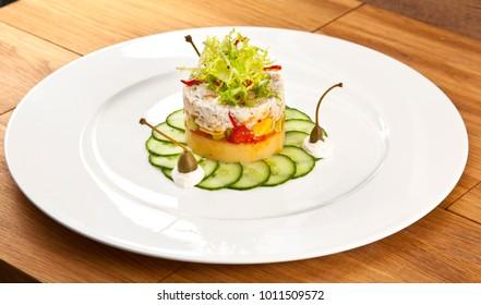 Fusion Food Plate