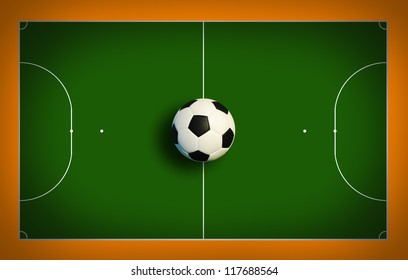futsal court football court sport game cup background for design