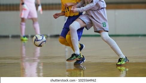 futsal game in japan
