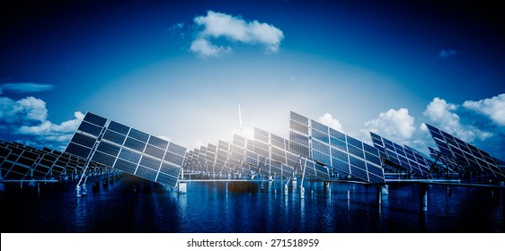 Future electrical production,shanghai china.