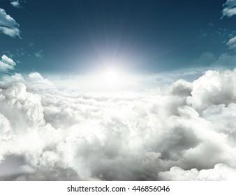 future hope in sky