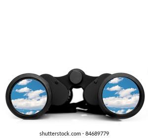 Future vision through binoculars