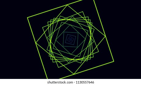 Futuristic background of Motion squares. Motion lines abstract background. Elegant dynamic geometric style template.