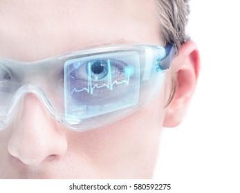 Futuristic ECG recording