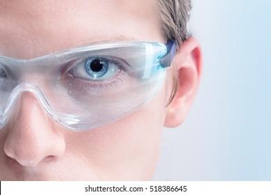 Futuristic goggles