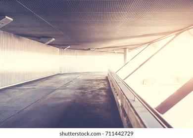 futuristic industrial architecture