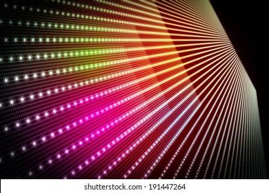 futuristic technology background illustration