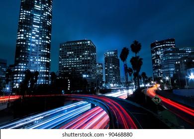 Futuristic Urban City, Los Angeles California