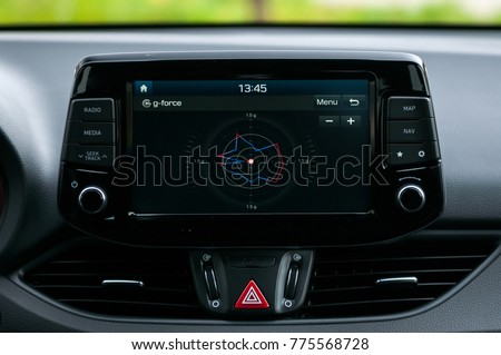 G Force Meter Sports Car Stock Photo Edit Now 775568728 Shutterstock