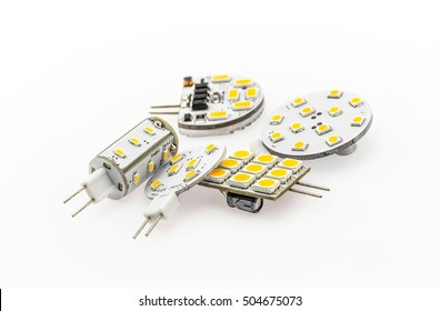 G4 LED bulbs of various shapes, power and luminosity