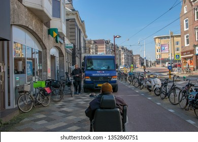 G4S Truck At Amsterdam The Netherlands 2019