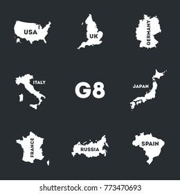 G8 set Icons.