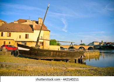 Gabbart in Bergerac, France
