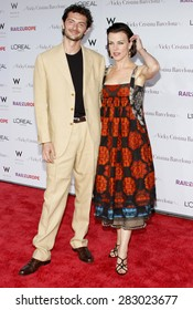 Gabriel Corcos and Debi Mazar at the Los Angeles premiere of 'Vicky Cristina Barcelona' held at the Mann Village Theatre in Westwood on August 4, 2008.