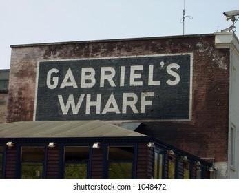 Gabriels wharf in London