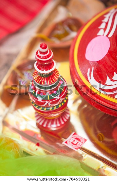 Gach Kouto Bengali Wedding Kolkata Stock Photo (Edit Now