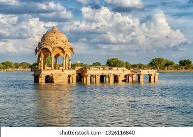 Gadi Sagar Gate, Jaisalmer, North India