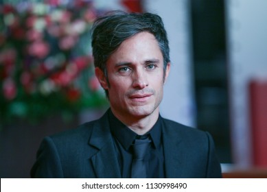 Gael Garcia Bernal attends the 'Museum' (Museo) premiere during the 68th Berlinale International Film Festival Berlin at Berlinale Palast on February 22, 2018 in Berlin, Germany.