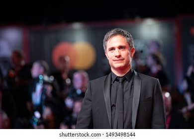 """Gael Garcia bernal walks the red carpet ahead of the """"Wasp Network"""" screening during the 76th Venice Film Festival at Sala Grande on September 01, 2019 in Venice, Italy."""