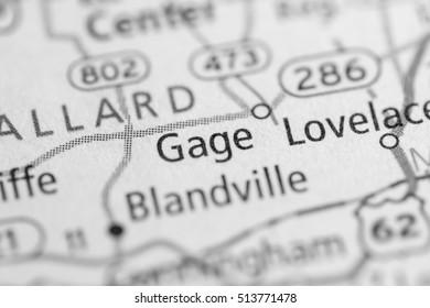 Gage. Kentucky. USA