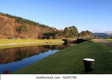 Gairlochy on the Caledonian Canal.