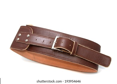 a gait leather belt for safety