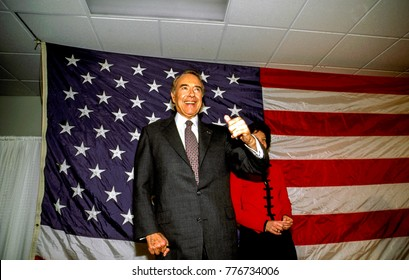 Gaithersburg Maryland, 3rd March, 1996 Senator Robert Dole Republican presidential candidate with his daughter Robin Dole at his side at campaign rally in  the Montogmery County fairgrounds