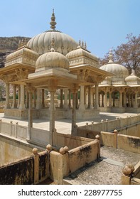 the Gaitore Cenotaphs Jaipur (rajasthan, India