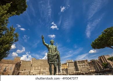 Gaius Julius Caesar was a Roman general and statesman.