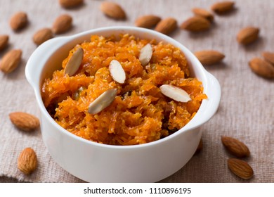 Gajar ka halwa is one the traditional sweet dessert pudding from India. This halwa is prepared during any special occasions, weddings, festivals or celebrations.