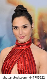Gal Gadot at the Los Angeles premiere of 'Wonder Woman' held at the Pantages Theatre in Hollywood, USA on May 25, 2017.