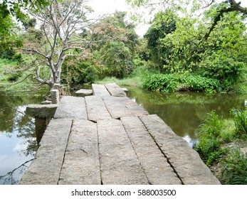 Gal Palama (Stone Bridge) over Malwathu Oya – Anuradhapura