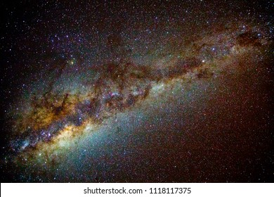 Galactic Emu, Ancient aboriginal astronomers mapped the sky by creating shapes from the dark clouds of dust in front of the centre of the Milky Way instead of joining the dots to make constellations.