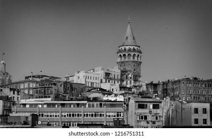 Galata Tower at Beyoglu