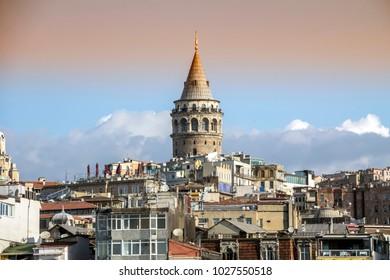Galata tower, istanbul Turkey