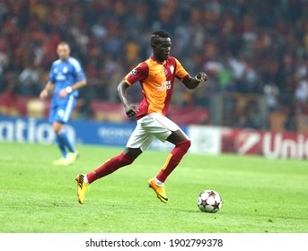 Galatasaray lost 6-1 to Real Madrid in the Champions League on 17 October 2013 at the Istanbul Türk Telekom Arena Stadium. Portugal Bruma (20)