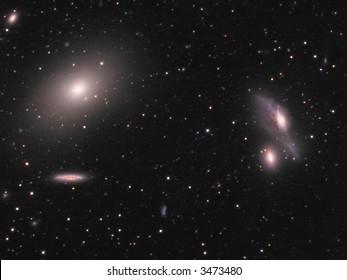 Galaxies in Virgo