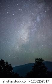 galaxy of doiphahompok thailand