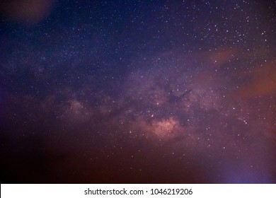 The galaxy, the Milky Way, and the stars in the night sky are very beautiful.