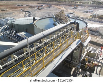 Galaxy Mining Lithium and Spodumene extraction and processing plant in Ravensthorpe Western Australia